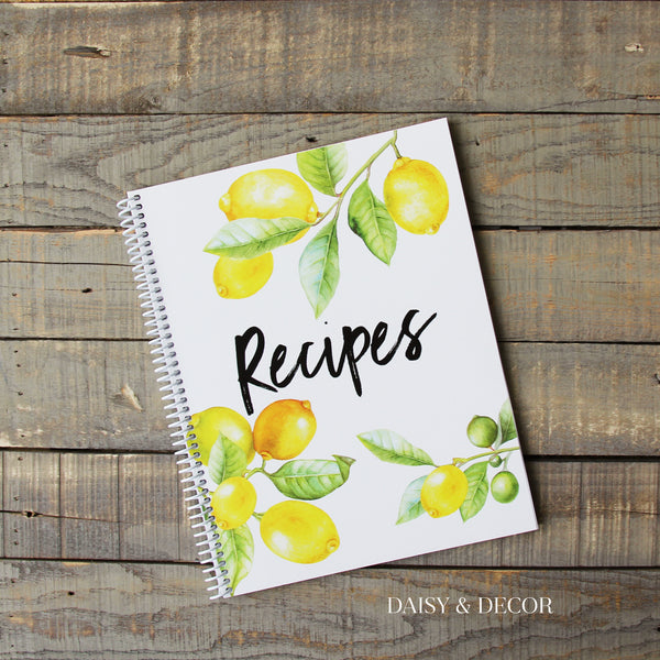 Personalized Kitchen Recipe Journals Amazing gift for anyone who loves to cook! Perfect gift for that special someone!