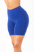 Royal Blue Cotton Cycle Shorts