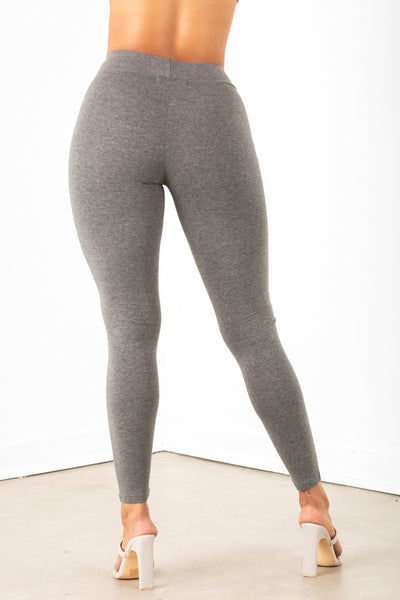 Charcoal High Rise Legging