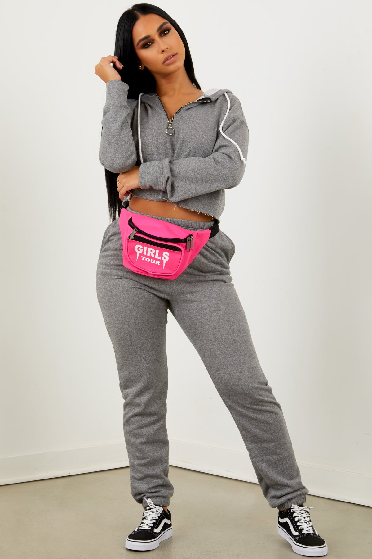 Girls Tour Fanny Pack Hot Pink