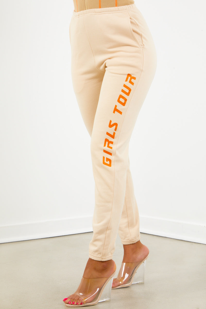 Sorella Drop 4 Tan Girls Tour Sweats