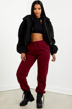 Essential Sweatpant - Burgundy