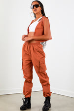 High Waist Trackpant - Copper