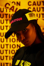 Girls Tour Caution Hat Pink