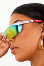 Lightweight Motor Sunglasses - Silver