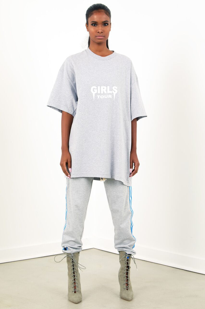 OG Girls Tour Tee- Grey