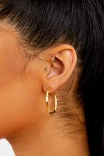 Mini Basic Hoop Earrings - Gold