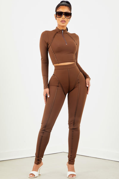 Coco Thick Piping Two Piece Set