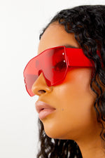 No Guidance Sunglasses - Red