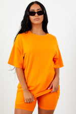 Sorella Boyfriend Tee - Orange