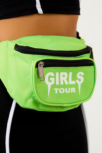Girls Tour Fanny Pack Lime Green