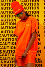 Sorella Caution T-Shirt Orange