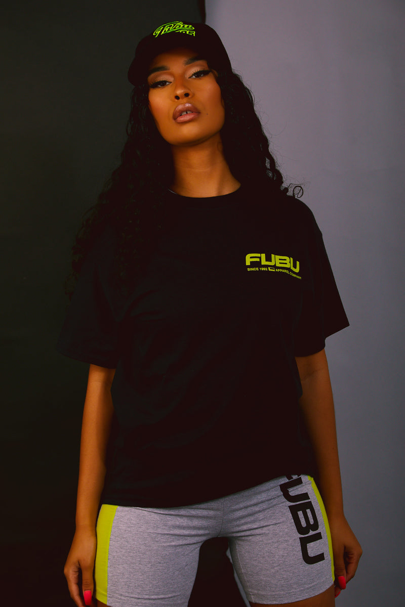 FUBU Short Sleeve Tee - Black