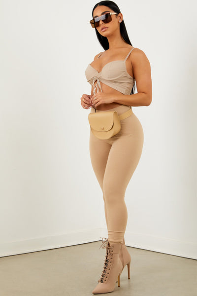 Nude High Rise Legging