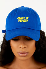 Girls Tour Royal Blue Dad Hat
