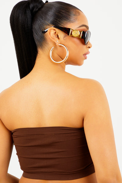 Brown Basic Bandeau
