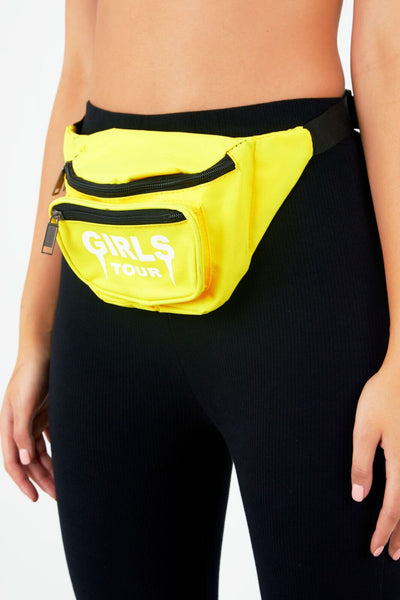Girls Tour Fanny Pack Yellow