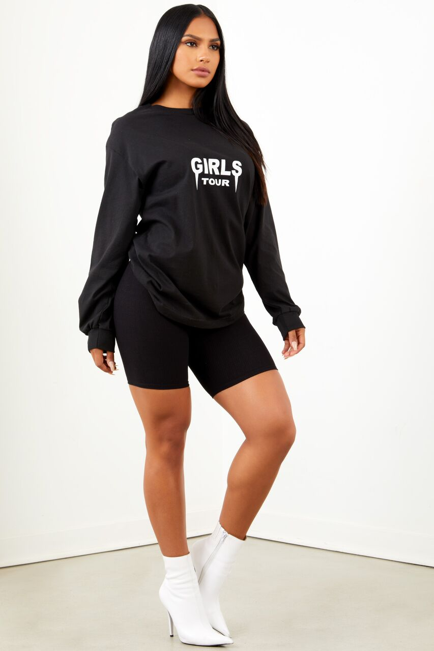 OG Girls Tour Long Sleeve Black