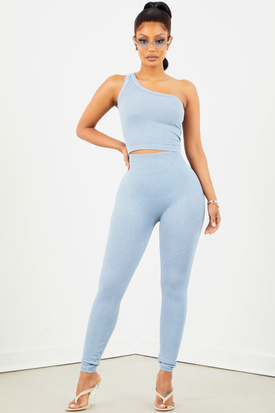 Bluestone Cropped Leggings