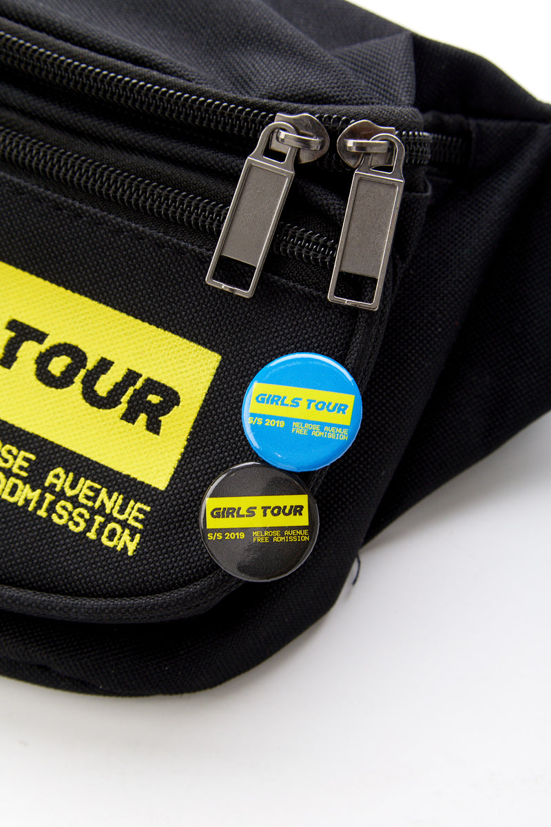 Girls Tour Melrose Ave Pin Set