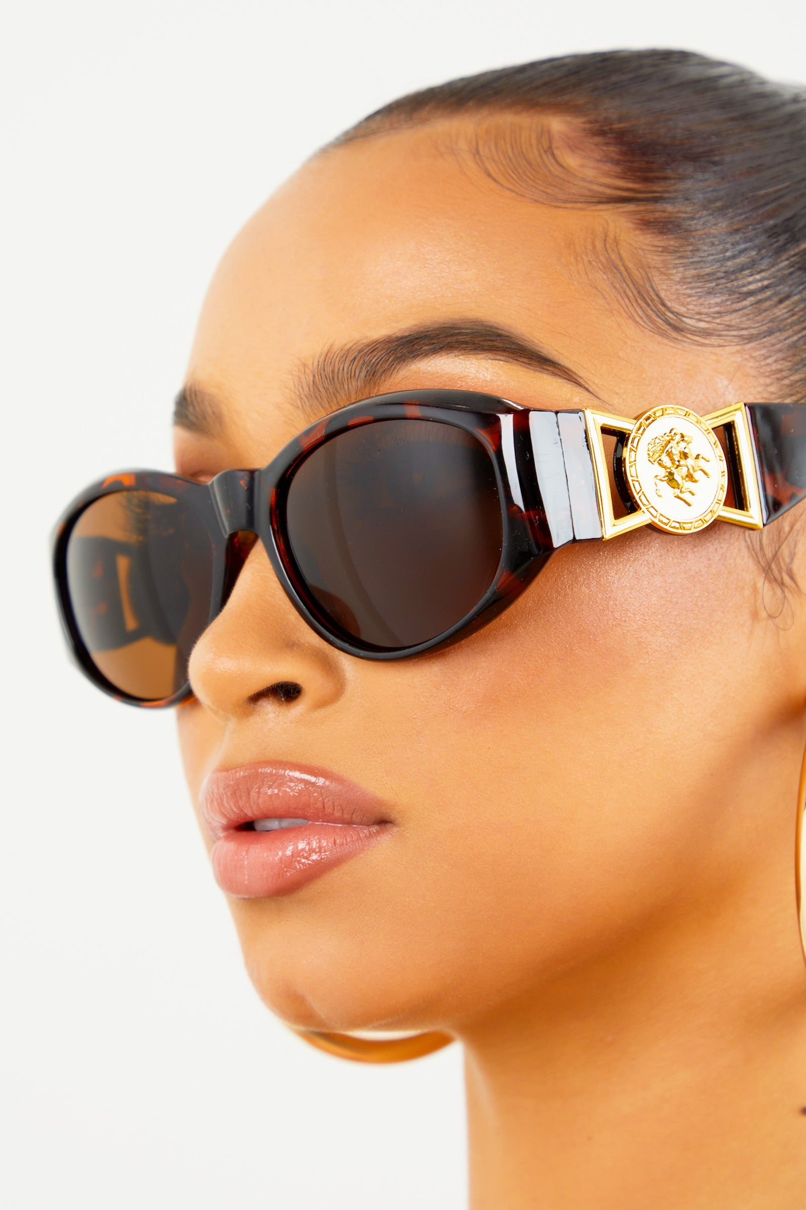 Brown Sace Sunglasses
