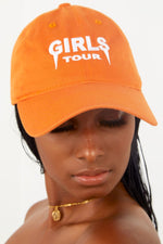 Girls Tour Hat Orange