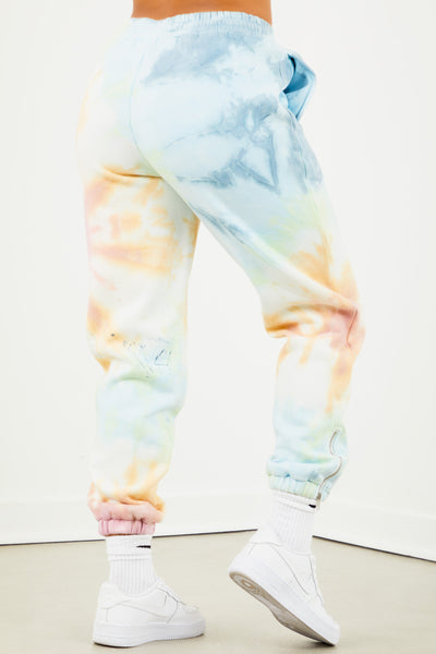 MEEKS GANG Tie Dye Sweatpants