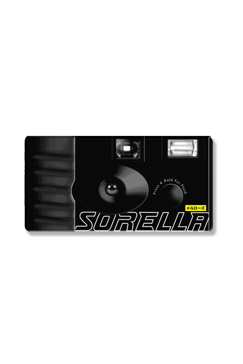 Sorella Disposable Camera - Black