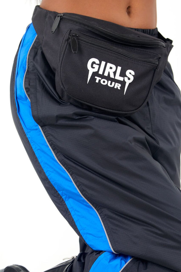 Girls Tour Fanny Pack Black