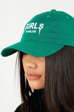 Girls Tour Hat - Green