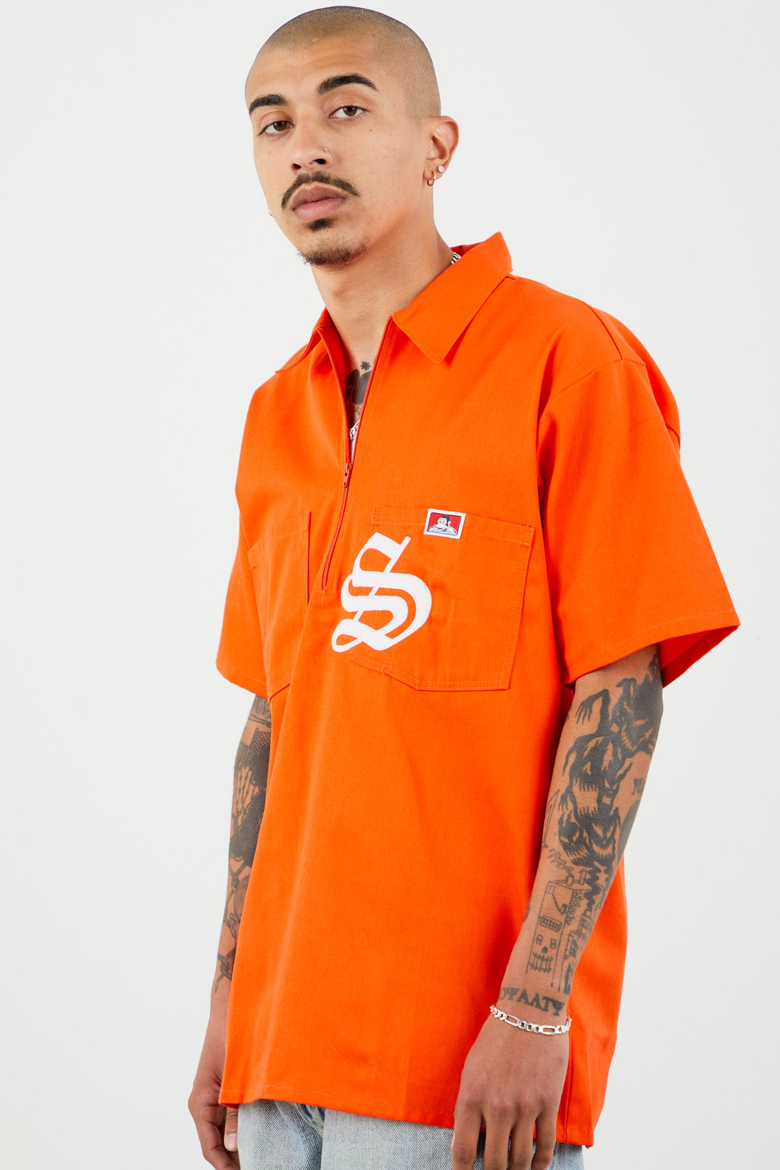 SWISH x BEN DAVIS WORK TOP