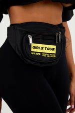 Melrose Ave Fanny Pack - Black