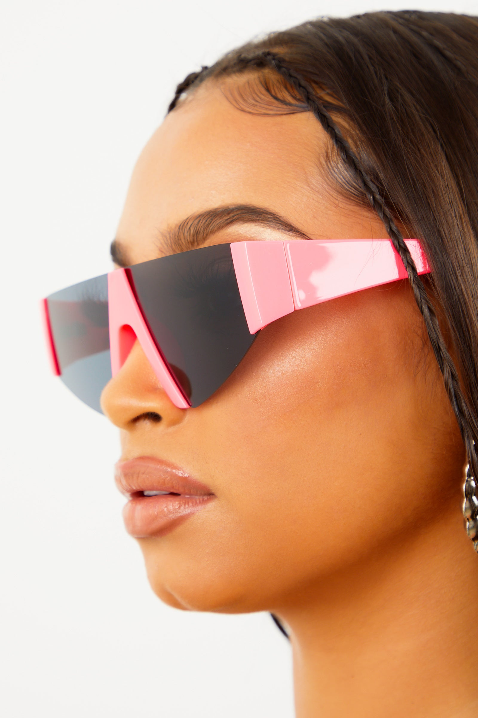 Neon Pink Vice Sunglasses