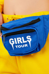 Girls Tour Fanny Pack Royal Blue