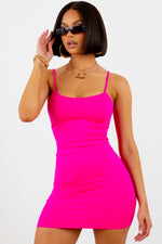Hot Pink Love Struck Dress