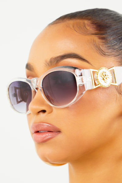 Clear Sace Sunglasses