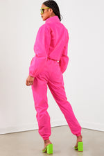 Reflective Tracksuit - Hot Pink