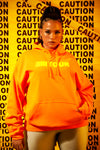 Shape Girls Tour Caution Hoodie Orange