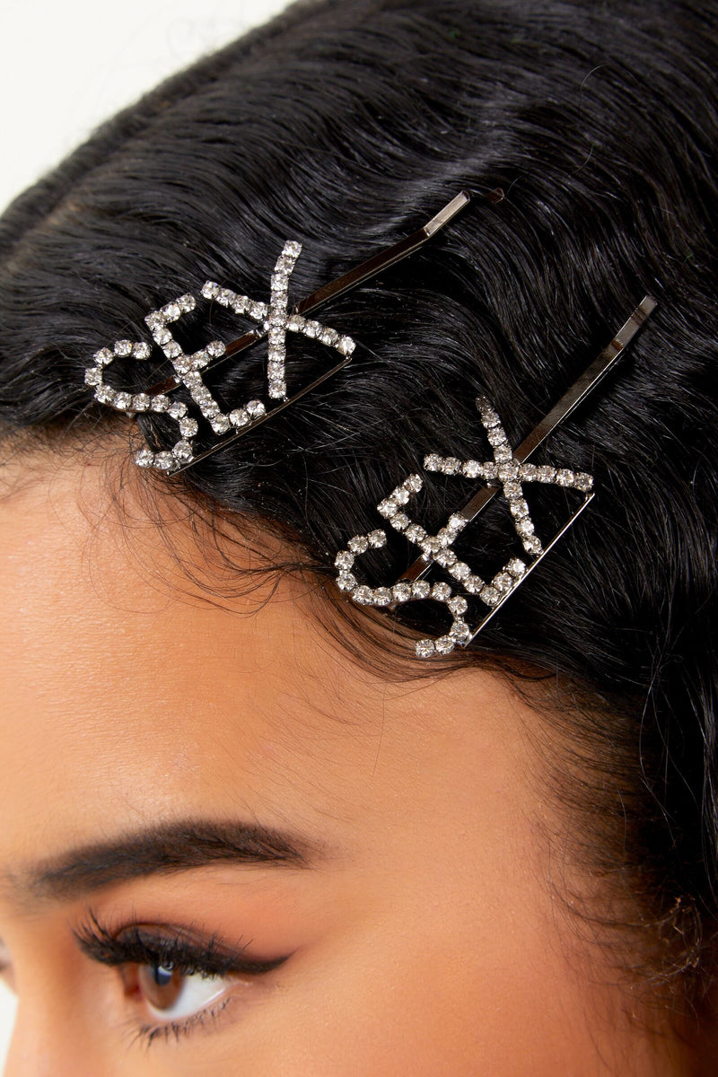 Sex Diamond Hairpin Set