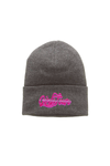 Girls Tour Airbrush Beanie - Grey
