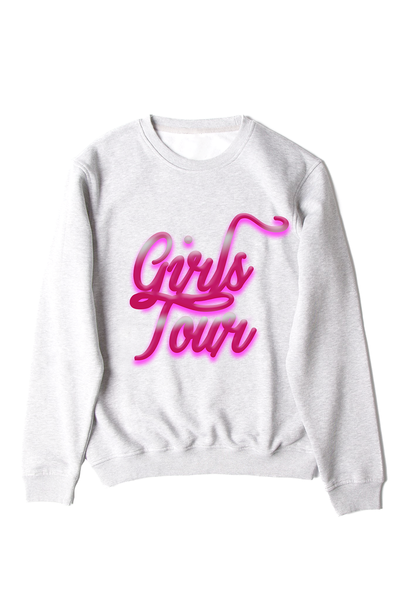 Girls Tour Airbrush Crewneck