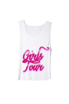 Girls Tour Airbrush Tank