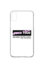 Girls Tour Graffiti iPhone X/XS Case - Clear