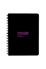 Girls Tour Notebook - Black