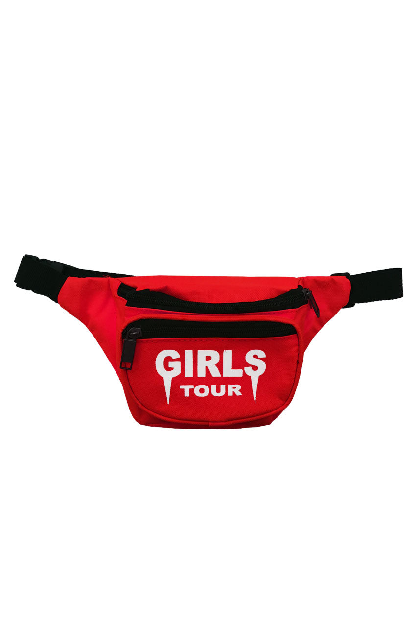 Girls Tour Fanny Pack Red