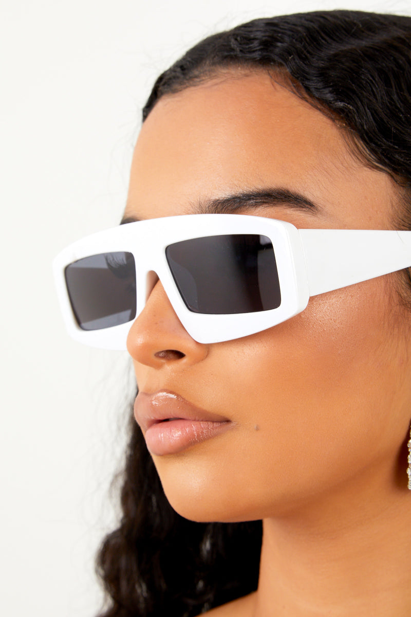 Outstanding Sunglasses- White