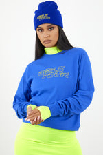 Girls Tour Racer Long Sleeve Royal Blue