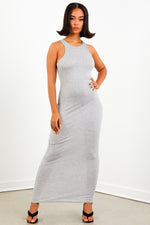 Sorella Grey Thermal Maxi Dress
