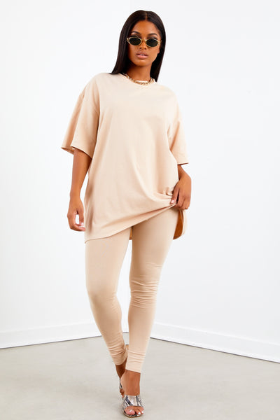 Sorella Tan Basic Leggings