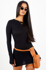Sorella Black Thermal Dress